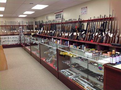 Guns in a Gun Shop